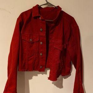Brandy Melville Crop Denim Jacket
